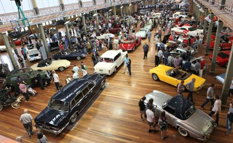 The 2012 RACV Motorclassica will be held at Melbourne's Royal Exhibition Building on October 26 to 28.