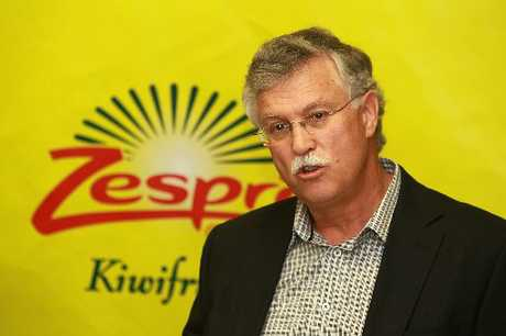 New Zealand Kiwifruit Growers president Neil Trebilco