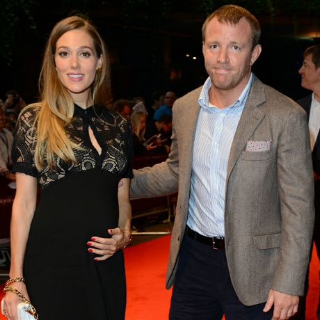Guy Ritchie and Jacqui Ainsley.