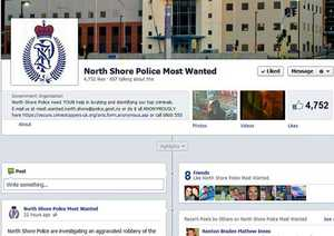 North Shore Police Most Wanted is using the community to identify alleged offenders.