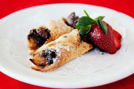 Choc-apple-turnovers are quick and easy