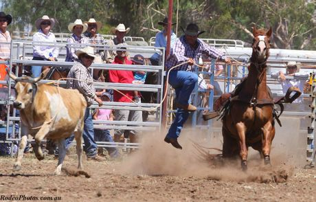 Johnny Osborne is ready for the 2012 Warwick Rodeo