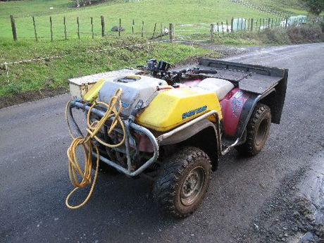 DANGER: Quad bikes are involved in five fatalities every year, on average.