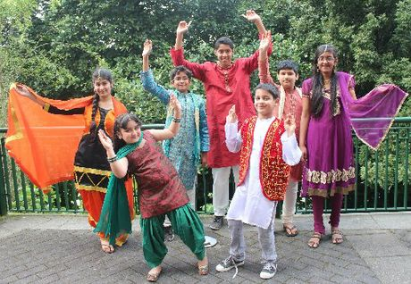 Left to right, Sukhan Ubha, Nimar Chahal, Aryan Gupta, Rohan Singh, Rohan Singh , Sukrat Ubha and Ananya Gupta.