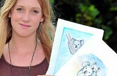 Chloe Bland has done a school project on saving koalas.