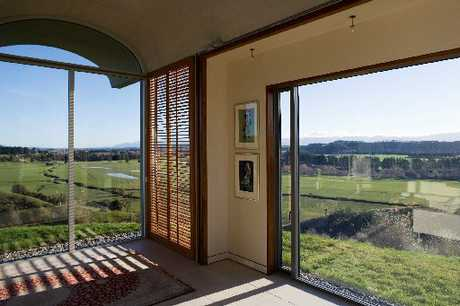 DISTINCTIVE STYLE: Wine pioneer Neil McCallum is selling his unique Martinborough home.