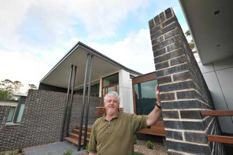 Bo Williams and his company, Unique Builders of Distinction, have just taken out a HIA-CSR Building Award for custom-built homes between $750,000 and $1 million. Bo is pictured at the home located on Mountain View Road. Photo: Brett Wortman / Sunshine Coast Daily