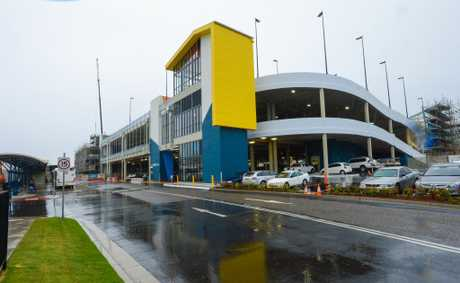 The Park Beach Plaza car park is entering phase four of construction. Photo: Trevor Veale/The Coffs Coast Advocate.