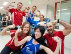 Coffs Coast Health Club staff have laid down the challenge. Photo: Rob Wright.