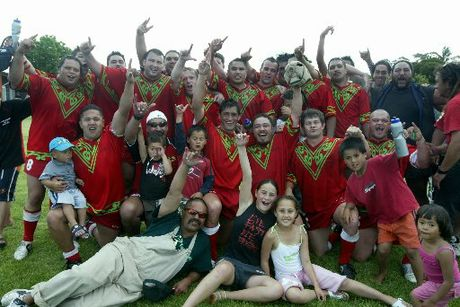 Eskview Seals, winners of the 2005 Hawke's Bay Rugby League Grand Final in Napier. Photo / File