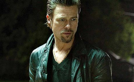 Brad Pitt in a scene from the movie Killing Them Softly.