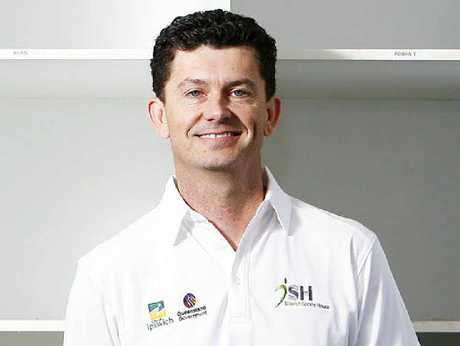 LEARN AND CELBRATE: Ipswich Sports House executive officer Troy McGrath is eager to see regional sport and recreational representatives attend next month's informative conference.