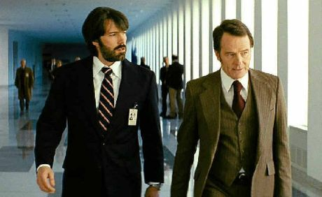 Ben Affleck (left) and Bryan Cranston in a scene from Argo.