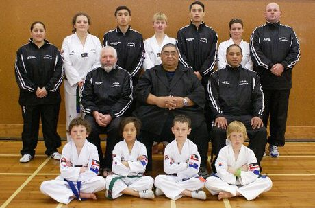 The highly successful Te Puke taekwondo team won 13 medals at the Australian Open championships.