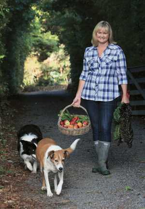 Lynda Hallinan, garden writer and author of 'Back to the Land: A Year of Country Gardening.