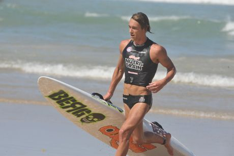 Mooloolaba ironman Ali Day has won the gruelling Coolangatta Gold
