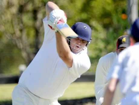 Despite a superb innings of 58, Matthew Walls could not inspire University to victory against Metropolitan-Easts.
