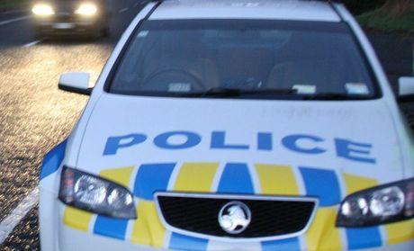 Police arrested two men who allegedly threatened a taxi driver.
