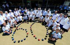 Ladies bowls club 60th anniversary. Photo: John Gass / Daily News