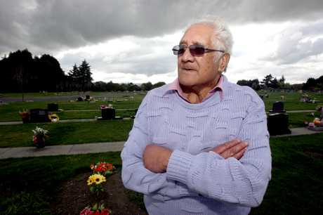 END OF THE ROAD: Masterton's Alex Tairoa's recovered car wasn't fit to be driven.