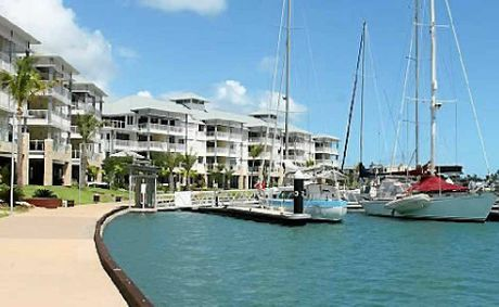 The Port of Airlie development project is once again under way.