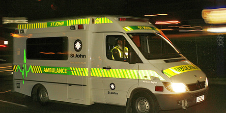 Three people were taken to Tauranga Hospital after the car they were travelling in crashed early this morning.