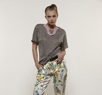 Capital T, $169; White Noise budgie trouser, $499, World