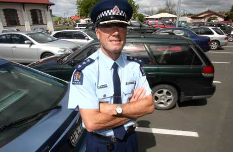 CAR TROUBLE: Wairarapa acting area commander Inspector Terry van Dillen says vehicle theft is a problem everywhere.