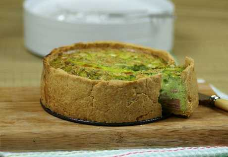 Green Eggs & Ham Picnic Pie.
