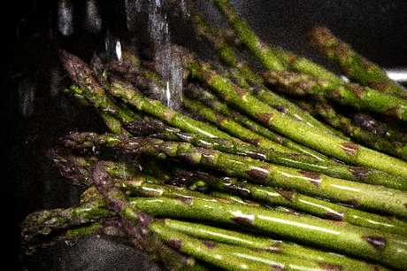 Don&#39;t harvest asparagus longer than three weeks. 