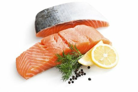 Salmon can be quickly sir-fried to make an easy meal.