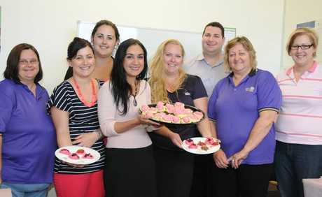 Max Employment have a pink afternoon to raise money for breast cancer research.