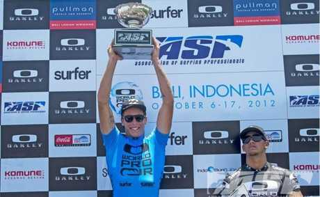 Jack Freestone, two time winner of the Oakley World Pro Junior Bali, and two-time ASP World Junior Champion.