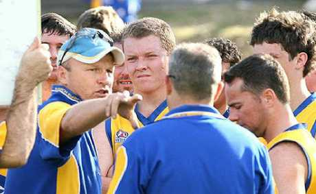 RUSHING BACK: Mick Rush has answered the call to again coach the Ipswich Eagles.