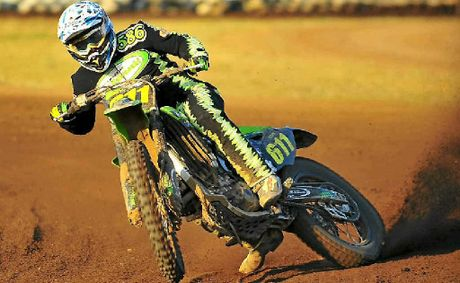 Mackay's Luke Burgess showed a clean pair of wheels to dominate his divisions at the inter-club Dirt Track Series.