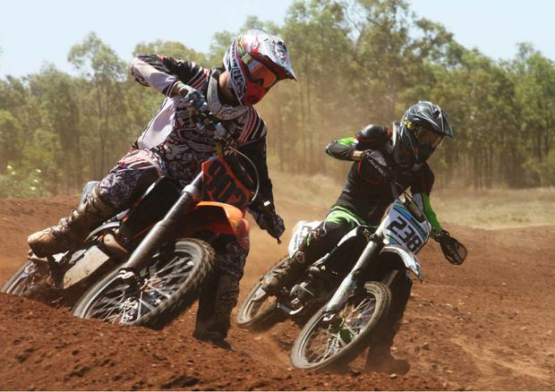The racing was fierce at the Emerald Motocross Club's club day.