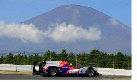 TOP RESULT: John Martin finished first in the ADR Delta Oreca Nissan in the LMP2 class of the 6 Hours of Fuji.