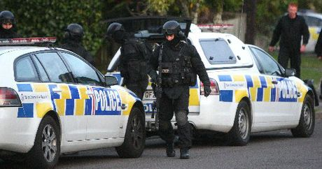TENSE: Armed Tauranga police were called to Te Teko yesterday.