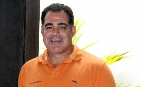 Mal Meninga at the MECC in Mackay.