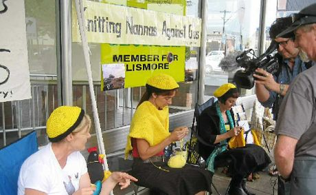 KNIT FILM: Tony Jackson of Chemical Media films Knitting Nannas Against Gas for Al Jazeera.