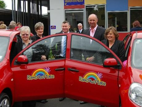Children&#39;s agency Rainbow Place was presented with a second car by Rural Women this week.