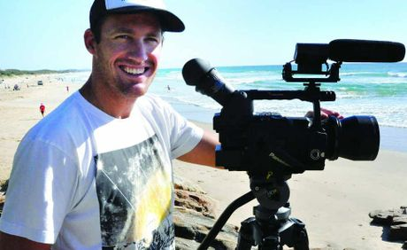 Kale Rickards traded in his surfing career for a life on the other side of the camera.