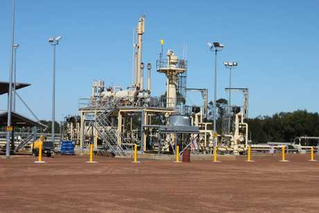The coal seam gas industry is a driving force behind the region's positive outlook.