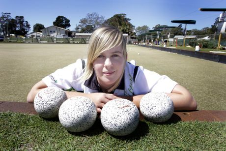Natasha Jones is off to the state championships for bowls. Photo Vicki Wood / Caboolture News