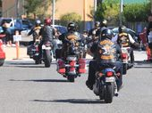 PROSERPINE magistrate Haydn Stjernqvist has issued a warrant for the president of a New South Wales chapter of the Bandidos outlaw motorcycle club.