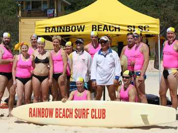 About 800 Nippers enjoyed perfect weather for the Rainbow Beach Banjo Memorial Carnival on Saturday.