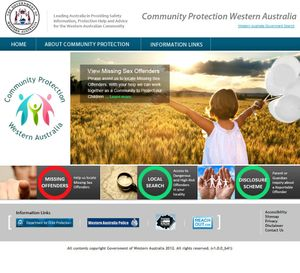 Australia's first online sex offenders website went live this week in ...
