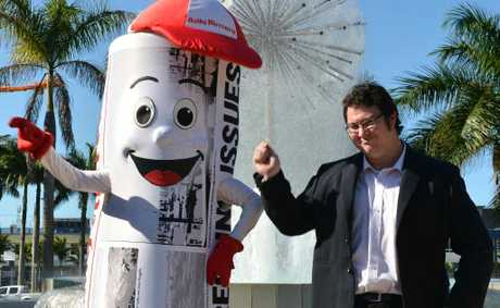Merc Man and Federal MP George Christensen show their Gangnam Style and we would like to see yours.