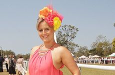 Torbanlea Picnic Races fashion - Natalie Kenneday from Bundaberg.