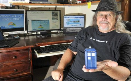 SEND FOR THE DOCTOR: Dave Heggie is trying to get an episode of Dr Who filmed in the region.